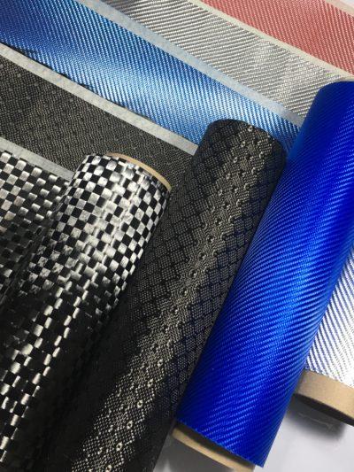 ผ้าคาร์บอน หลากสีและหลากหลายลวดลาย