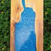 เรซิ่น เคลือบไม้ เรืองแสง สีฟ้า แม่น้ำ ใช้อีพ็อกซี่เรซิ่น,น้ำเทียม,resinsj ,sj ,DIY ,resin ,,เรซิ่น ,เรซิ่นหล่อ ,เรซิ่นหล่อใส ,เรซิ่นใส ,เรซิ่นเอสเจลำสาลี ,เรซิ่นไม่มีกลิ่นฉุน ,เรซิ่นDIY ,resinDIY