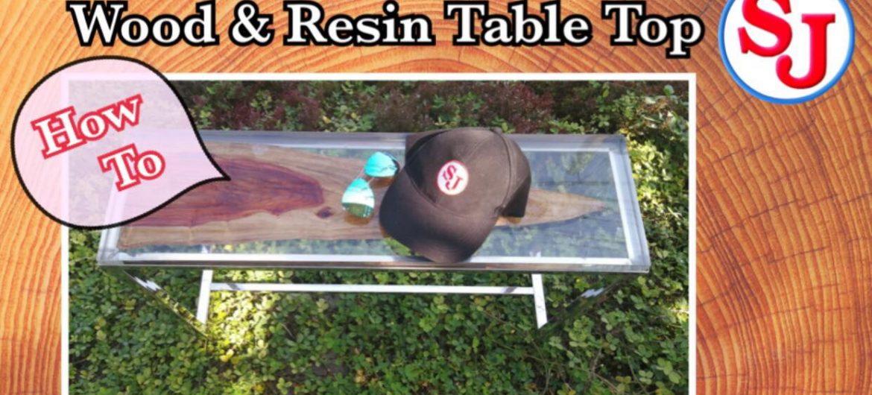 [ การหล่อ เรซิ่น ใส ] How to:Wood resin craft