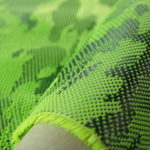 ผ้าคาร์บอนลายพราง สีเขียวอ่อน มีขนาดทดลองให้เลือกใช้ เลือกเล่น. 30X100 cm ราคาม้วนละ 550 บาท. พร้อมชุดฝึกหัดหุ้มคาร์บอน