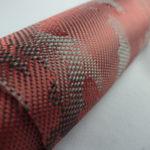 ผ้าคาร์บอนลายพราง สีแดง มีขนาดทดลองให้เลือกใช้ เลือกเล่น. 30X100 cm ราคาม้วนละ 550 บาท. พร้อมชุดฝึกหัดหุ้มคาร์บอน