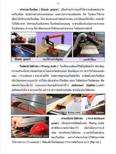 หนังสือ เครื่องมือช่างไม้หน้า 76